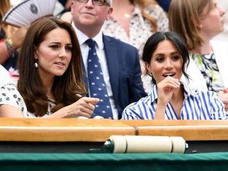 Kate Middleton e Meghan Markle assistirama final feminina de tênis entre Serena Williams e a alemã Angelique Kerber