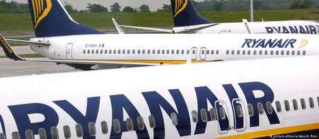 Ryanair é a maior companhia aérea da Europa em termos de número de passageiros