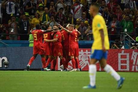 Boa campanha belga, algoz do Brasil nas quartas de final, deixa o país orgulhoso de seus jogadores e já há uma grande celebração preparada para este domingo, não importa a classificação final dos Diabos vermelhos (AFP)