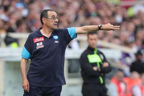 Italiano Maurizio Sarri foi técnico do Napoli nas últimas temporadas