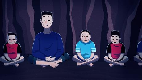 Meditação ajudou meninos a manter calma