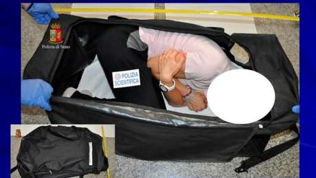 Ayling foi drogada e colocada dentro de uma mala antes de ser levada ao cativeiro