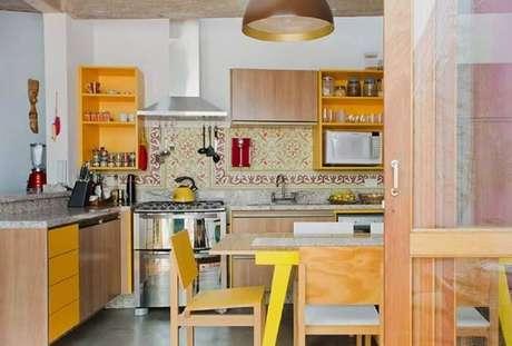 3. Os nichos organizadores para cozinha são excelentes para manter o ambiente sempre em ordem