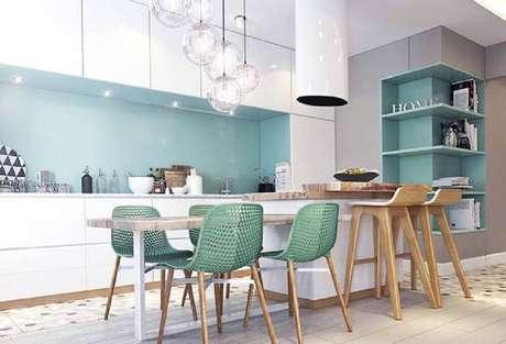 4. Invista em nichos decorativos para cozinha, deixando esse ambiente ainda mais personalizado