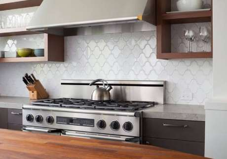 31. Ideias de decoração com nichos para cozinha