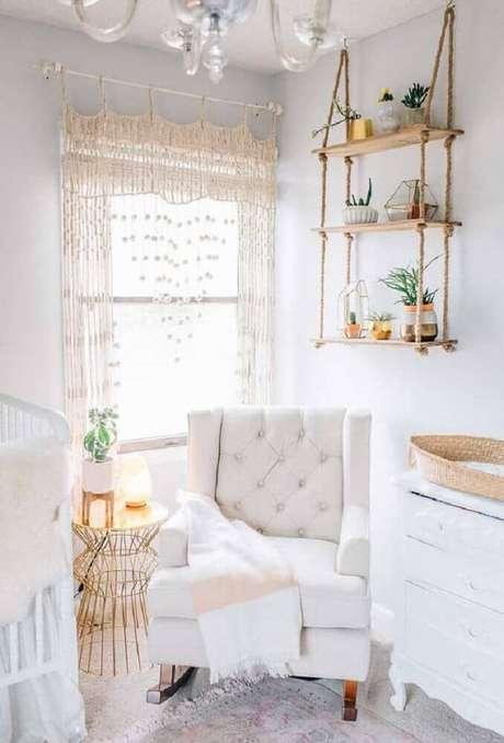 26. Os detalhes podem fazer toda a diferença na decoração do quarto de bebê pequeno