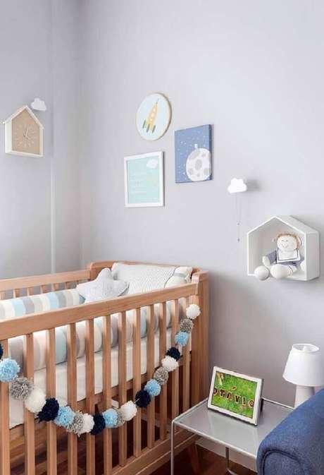 1. Veja ideias para quarto de bebê decorado