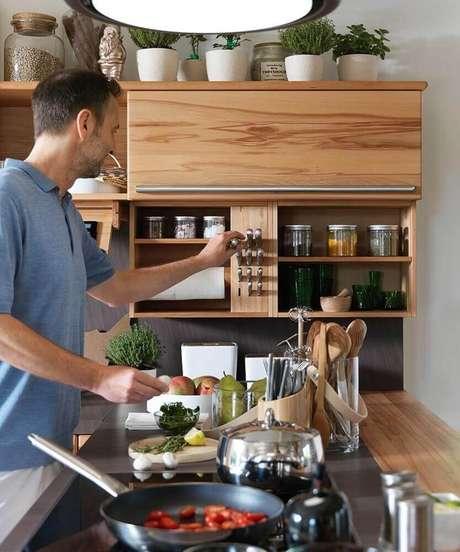 2. Os modelos de nichos organizadores para cozinha são sempre os mais procurados