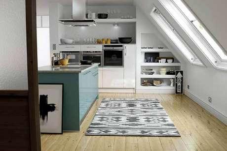 37. Nichos embutidos para cozinha são excelentes ideias para otimizar o espaço