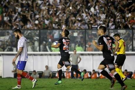 Imagens de Vasco x Bahia pelas oitavas da Copa do Brasil