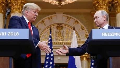 Trump foi questionado por jornalista sobre declarações de Putin