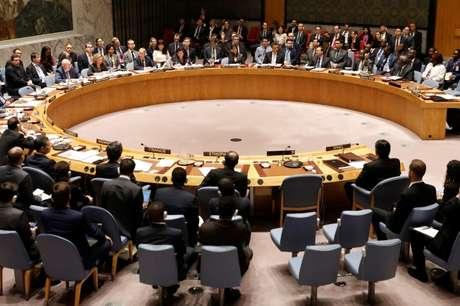Reunião do Conselho de Segurança da ONU na sede da organização em Nova York, EUA 01/06/2018 REUTERS/Shannon Stapleton