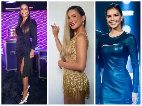 """Looks das famosas no """"The Voice Brasil"""" (Fotos: Instagram/Reprodução)"""