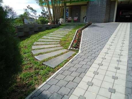 23- Piso de concreto para área externa.