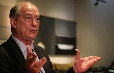 O pré-candidato do PDT à Presidência da República, Ciro Gomes