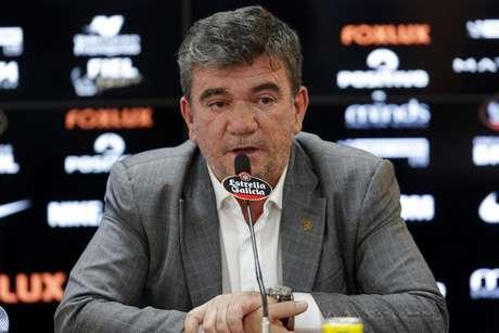 Andrés deu entrevista após vitória sobre o Botafogo e não faltaram declarações polêmicas (Foto: Daniel Vorley/AGIF)