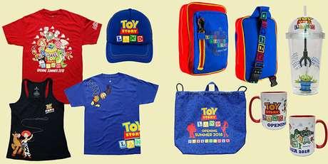 Camisetas, bolsas, mochilas, copos… crianças e adultos vão querer comprar tudo!