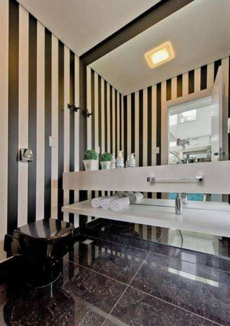25.Piso para banheiro sofisticado