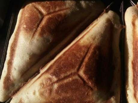 Bolo na sanduicheira