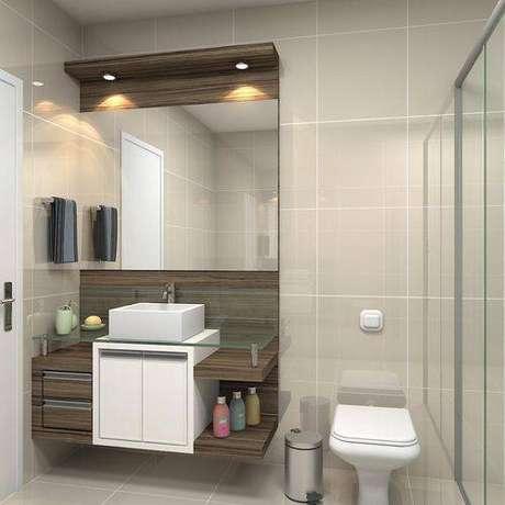 26. Piso para banheiro clean