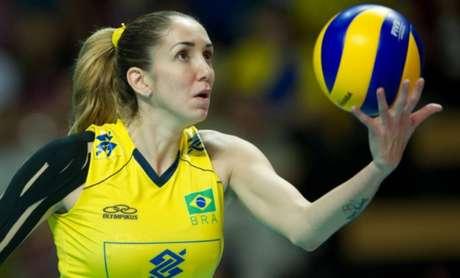 Nas redes sociais, Thaisa comemorou a convocação para o Mundial de Voleibol Feminino 2018 (Foto: Divulgação)