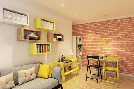 58 ideias de modelos estante decora o e organiza o for Sala de estar sims 4
