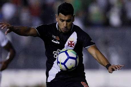 Andrés Rios marcou o primeiro gol do Vasco