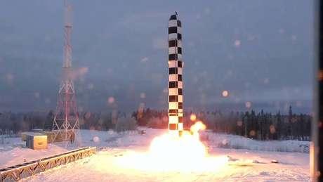 O Samart, ou Satã 2, é uma das 'armas invencíveis' que foram apresentadas recentemente pelo governo russo