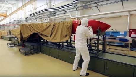 Governo russo divulgou imagens de testes feitos com os novos armamentos