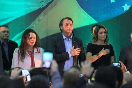 Lançamento da candidatura de Jair Bolsonaro para à Presidência da República, durante Convenção Nacional do PSL
