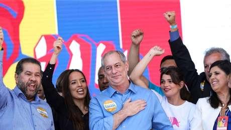 Ciro se lançou candidato pelo PDT na última sexta-feira, em Brasília