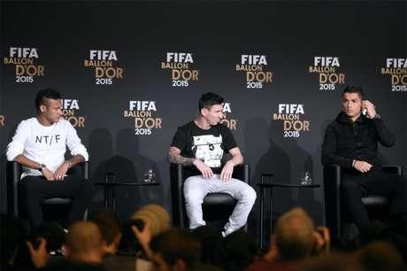 Neymar foi um dos jogadores que estiveram briga pelo prêmio nos últimos anos (Foto: AFP/OLIVIER MORIN)