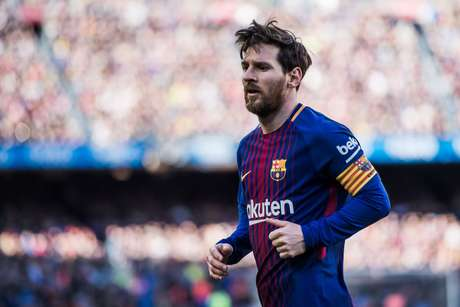 O atacante argentino Lionel Messi, do Barcelona