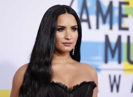 Cantora Demi Lovato durante evento em Los Angeles, Califórnia 19/11/2017 REUTERS/Danny Moloshok