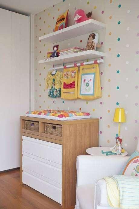 Móveis para Quarto de Bebê devem ser claro e delicados