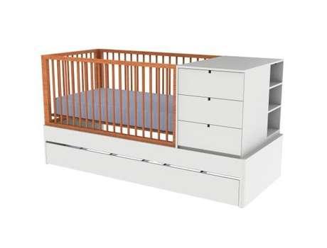 Móveis para Quarto de Bebê: Berço Multiuso