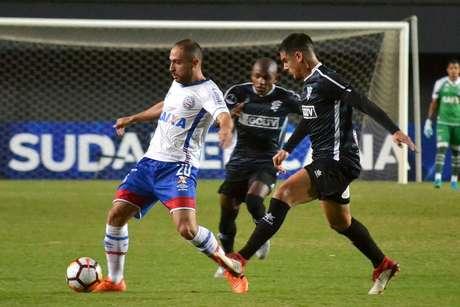 Régis foi o autor do segundo gol do Bahia