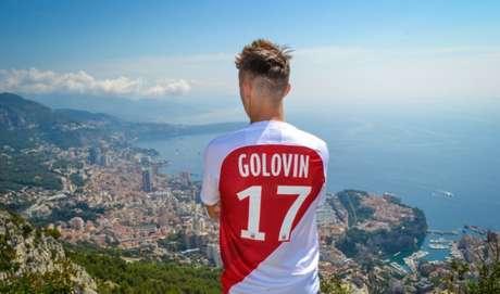 Golovin é o novo reforço do Monaco (Foto: Reprodução)