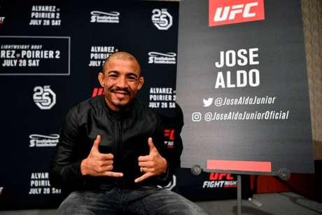 José Aldo retorna ao Ultimate neste sábado, em duelo contra o americano Jeremy Stephens (Foto: Getty Images)