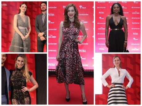 Looks das famosas em premiação (Fotos: Wallace Barbosa/AgNews)
