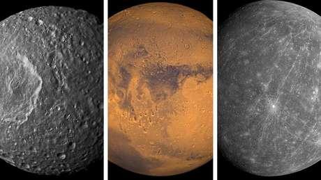 Que tal ajudar a criar um mapa detalhado das superfícies da Lua, de Marte ou de Mercúrio?