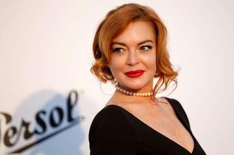 A atriz Lindsay Lohan em evento de gala na França 25/05/2017 REUTERS/Stephane Mahe