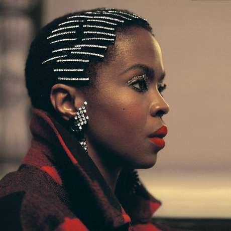 Outra imagem da campanha da coleção Woolrich American Soul, estrelada por Ms. Lauryn Hill