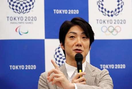 Mansai Nomura, em enetrvista em Tóquio 31/7/2018  REUTERS/Toru Hanai