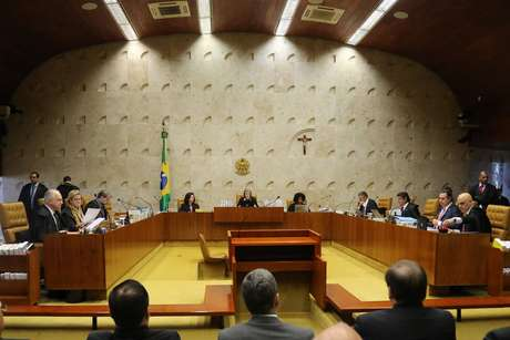 Corte do Supremo tribunal Federal (STF) é composta por 11 ministros, todos indicados pelo Presidente da República