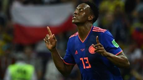 Mina marcou três gols na Copa do Mundo (Foto: AFP)