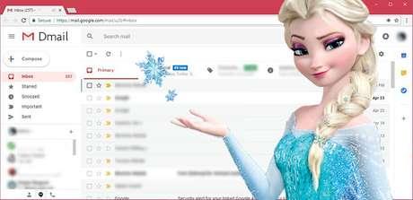 Já imaginou o Gmail virando Dmail? Nós imaginamos...