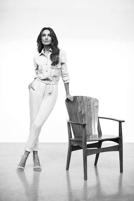 """""""São duas estreias ao mesmo tempo, a minha como modelo e a da marca"""", diz Patrícia Poeta, que pela primeira vez estrela uma campanha de moda"""