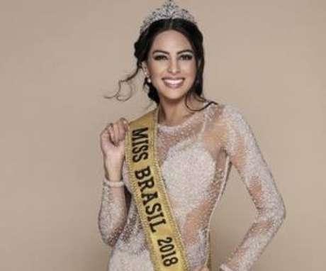 Mayra Dias é a Miss Brasil 2018