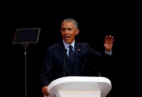 Obama faz discurso em Johannesburgo